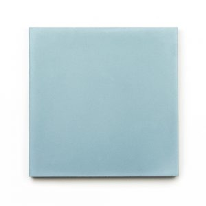 8x8 'Sky' encaustic cement tile , 5/8 inch thick, 5.28 square feet per box (12 tiles in each box)