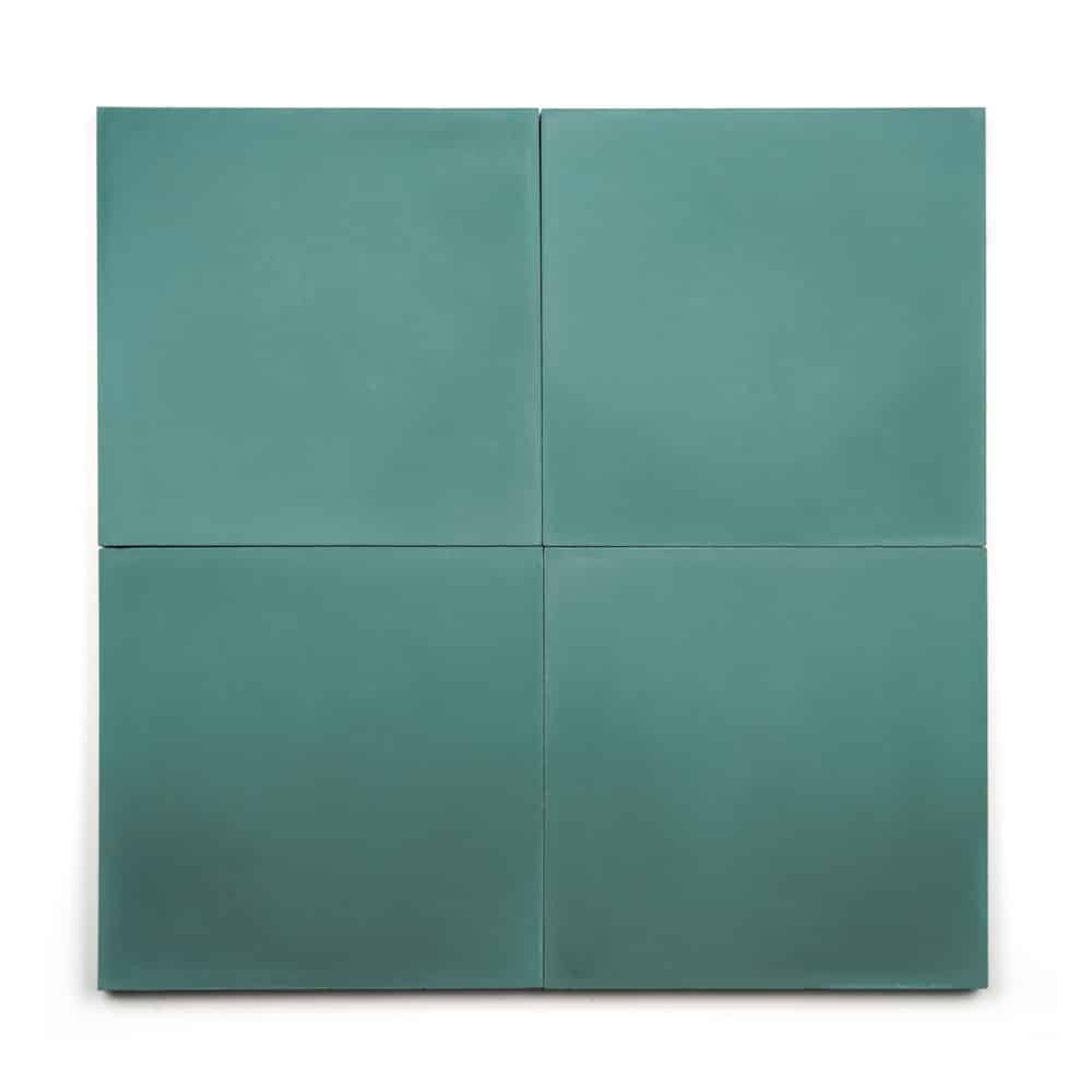 8x8 square 'Everglade' encaustic cement tile , 5/8 inch thick, 5.28 square feet per box (12 tiles in each box)