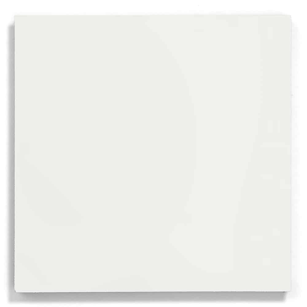 8x8 square 'White' encaustic cement tile , 5/8 inch thick, 5.28 square feet per box (12 tiles in each box)