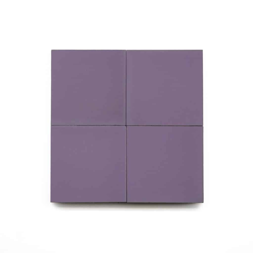 4x4 square 'Montana' encaustic cement tile , 5/8 inch thick, 5.28 square feet per box (48 tiles in each box)
