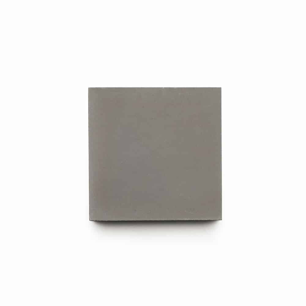 4x4 square 'Pewter' encaustic cement tile , 5/8 inch thick, 5.28 square feet per box (48 tiles in each box)