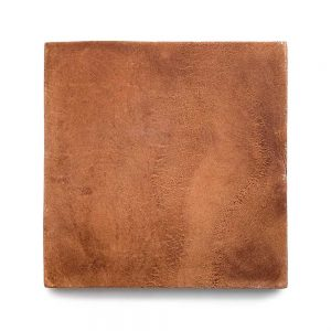 13x13 'Square' Cotto terracotta tile, 5/8 inch thick, 9.56 square feet per box (8 tiles in each box)