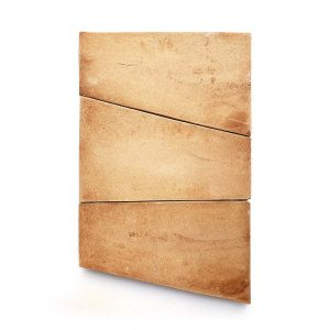 13x13 'Toltec' Cotto terracotta tile, 5/8 inch thick, 9.56 square feet per box (16 tiles in each box)