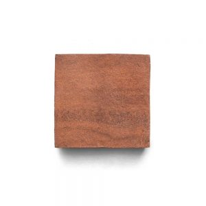 4x4 'Square' Cotto terracotta tile, 5/8 inch thick, 8.1 square feet per box (64 tiles in each box)