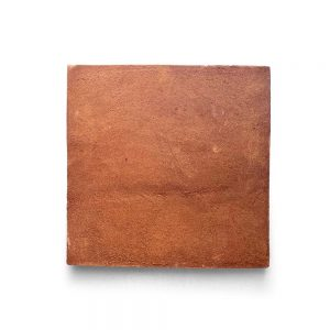 8x8 'Square' Cotto terracotta tile, 5/8 inch thick, 8.1 square feet per box (16 tiles in each box)