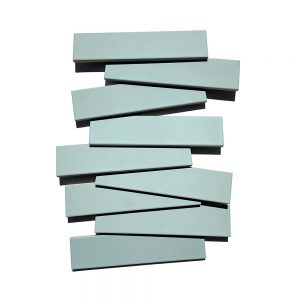 2x8 subway 'Agave' high fired ceramic tile, 3/8 inch thick, 16.67 square feet per box (150 tiles in each box)