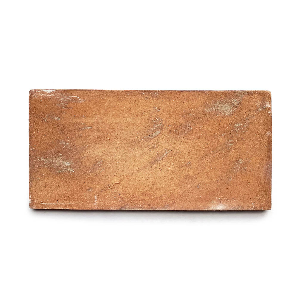 6.5x13 'Rectangle' Cotto terracotta tile, 5/8 inch thick, 9.56 square feet per box (16 tiles in each box)