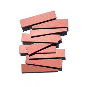 2x8 subway 'Pink Dahlia' high fired ceramic tile, 3/8 inch thick, 16.67 square feet per box (150 tiles in each box)