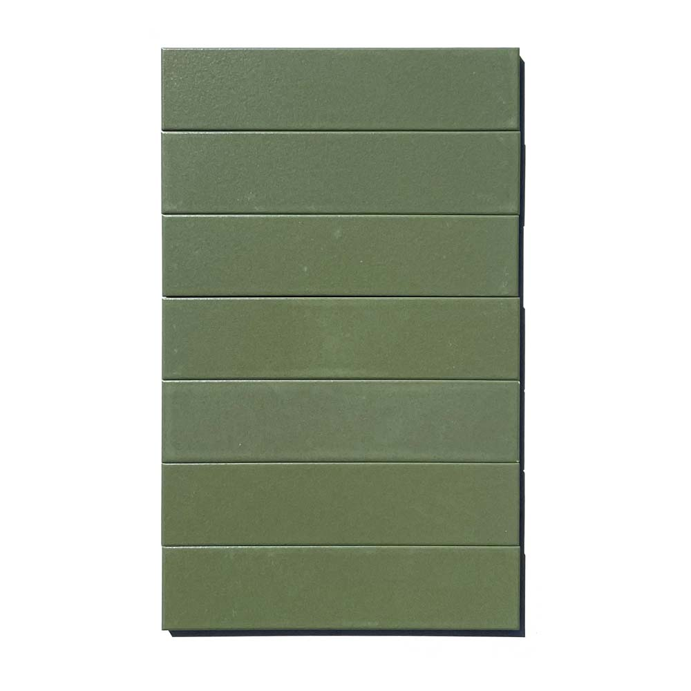 2x8 subway 'Sequoia' high fired ceramic tile, 3/8 inch thick, 16.67 square feet per box (150 tiles in each box)