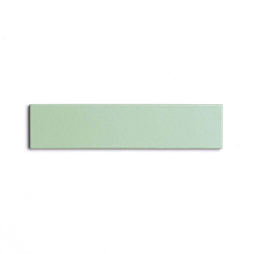 2x8 subway 'Eucalyptus' high fired ceramic tile, 3/8 inch thick, 16.67 square feet per box (150 tiles in each box)